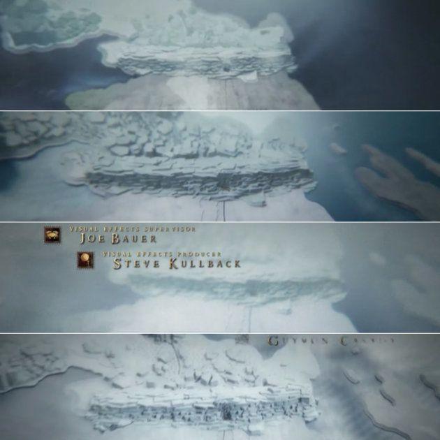 Distintas cabeceras de las temporadas 1, 3, 5 y 7 de 'Juego de