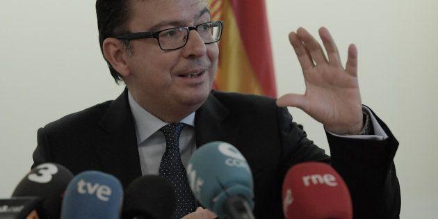 Román Escolano, ministro de