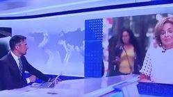 La inesperada interrupción en pleno directo del 'Telediario' de