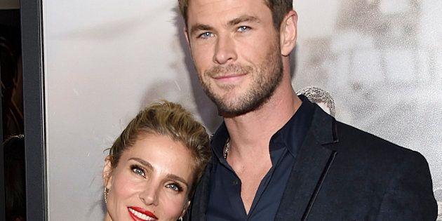 El recadito de Elsa Pataky a Chris Hemsworth por olvidarse de ella en la premiere de 'Vengadores: Infinity