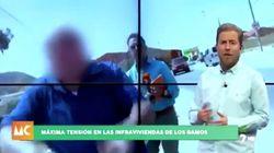La brutal agresión a un reportero de la TV de Murcia durante un