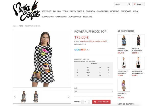 Paula Echevarría triunfa con un vestido de las Supernenas en 'Viva la
