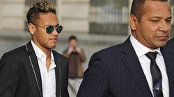 Neymar y su padre torean al