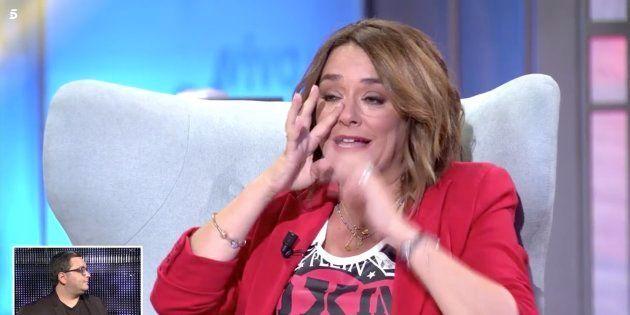 Toñi Moreno rompe a llorar entrevistando a Pau Donés en 'Viva la