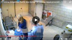 Cifuentes, pillada robando unas cremas rejuvenecedoras en un Eroski de Madrid en