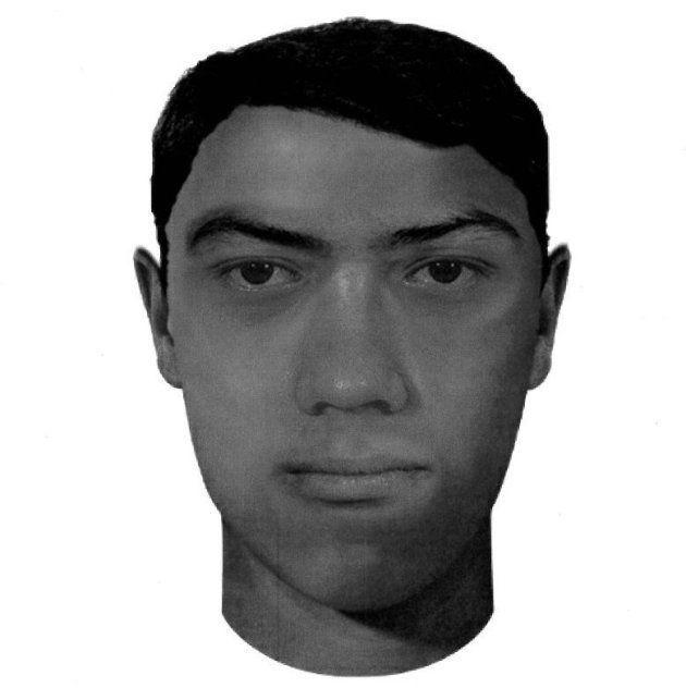 Retrato robot de uno de los presuntos secuestradores de