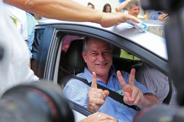 Ciro Gomes, después de votar en Brasil el pasado