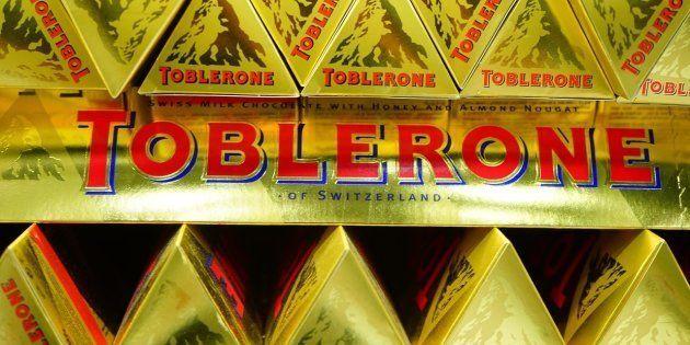 Un toblerone como el que provocó la dimisión de la ministra sueca Mona
