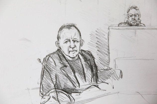 Retrato de Madsen durante su