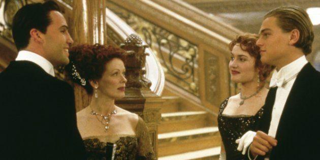 Reunión de 'Titanic': Leonardo DiCaprio, Kate Winslet y Billy Zane,