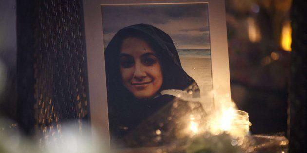 Una fotografía de Anne Marie D'Amico una de las fallecidas en el atropello masivo de