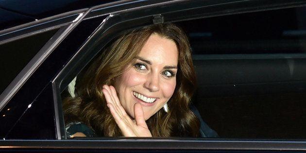 Kate, duquesa de Cambridge, en una recepción en Berlín, Alemania, el 20 de julio de