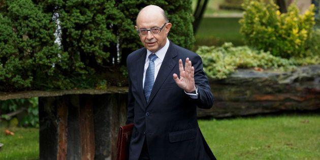 El ministro de Hacienda, Cristóbal