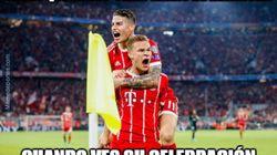 Los memes del Bayern-Real Madrid que te van llegar por