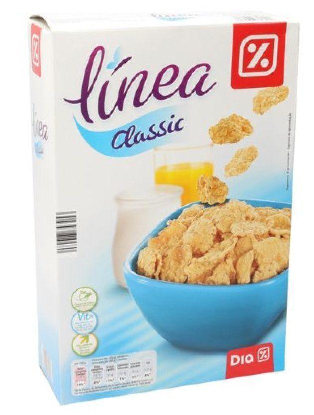 Un paquete de cereales Línea Classic de