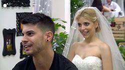 Se plantó en 'First Dates' vestida de novia... pero no es lo que