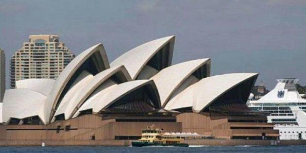 Imagen de archivo de la ciudad australiana de