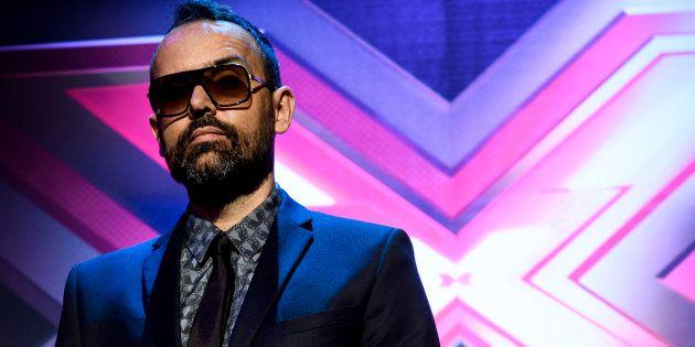 Risto Mejide, en la presentación de 'Factor X' en abril de 2018 en