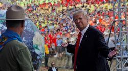 Los Boy Scouts se disculpan por un discurso político de Trump en su