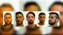 Estas son las condenas a los cinco miembros de 'La