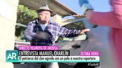 Manuel Charlín ('Fariña') agrede con un palo a una reportera de 'El Programa de