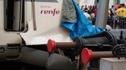 Las imágenes del accidente de Rodalies en