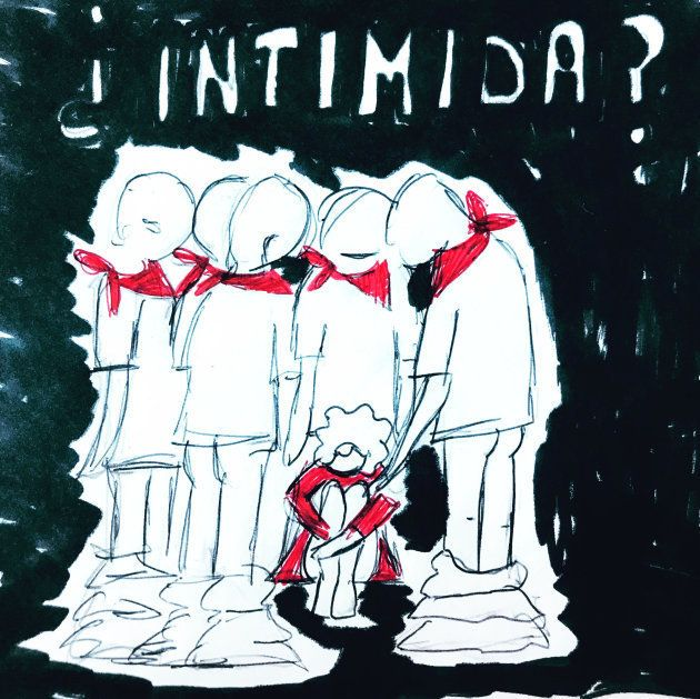 ¿Intimida?