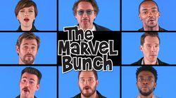 Los superhéroes de 'Vengadores: Infinity War' parodian 'La tribu de los