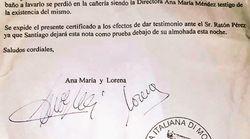 Un niño pierde su diente y la directora del colegio le escribe un vale para el Ratón