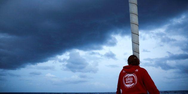 Una imagen de archivo de uno de los barcos de la ONG Proactiva Open