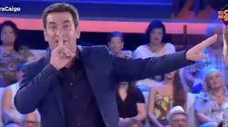 Arturo Valls intenta gastar una broma a una señora del público y le sale