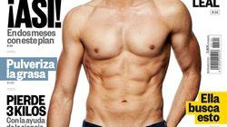 Tras el reto de dos meses, así es la portada de Men's Health de Roberto