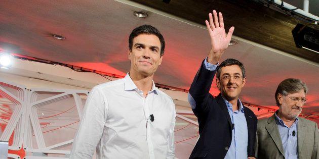 Pedro Sánchez y Eduardo
