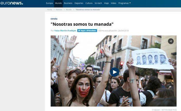 La prensa mundial lleva a primera plana la indignación por el fallo de La
