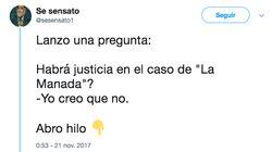 El hilo de 2017 que vaticinaba que la sentencia de La Manada iba a decepcionar a