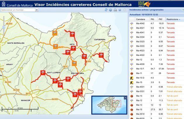 Al menos diez muertos y un niño desaparecido en Mallorca por las inundaciones tras las graves