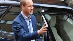 El príncipe Guillermo sufre lo que cualquier otro padre de un recién