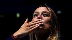 La felicitación a Mireia Belmonte que ha dejado a la nadadora sin