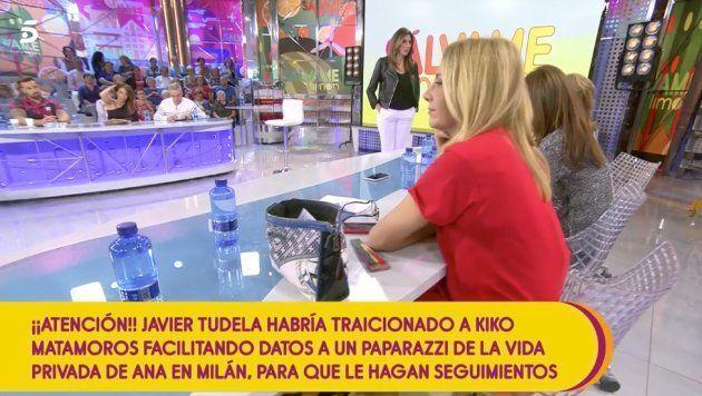Kiko Hernández, pillado jugando al Candy Crush en pleno