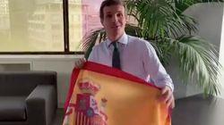 El tuit de Casado que se le vuelve en contra por lo que dice de las bandera de España en los
