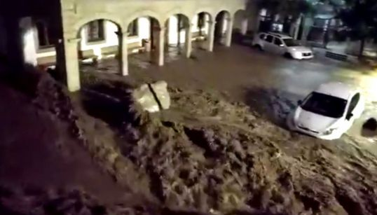 Las inundaciones en Mallorca, en