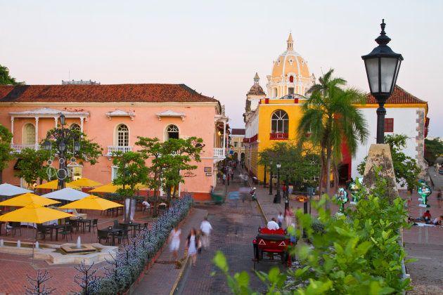 Cartagena De Indias, Plaza Santa