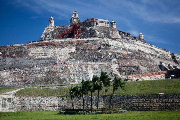 Castillo de San Felipe de Barajas en Cartagena,
