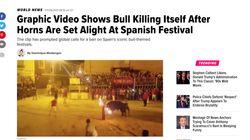 El vídeo de 'El Toro Embolao' que indigna al