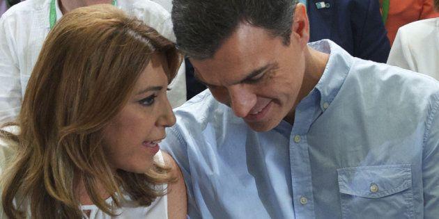 Susana Díaz, a Pedro Sánchez: