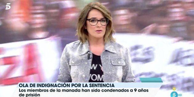 El mensaje de Toñi Moreno a la víctima de 'La Manada' en 'Viva la