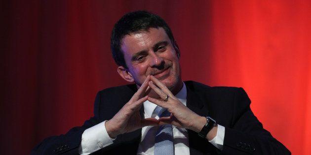 Manuel Valls en diciembre de