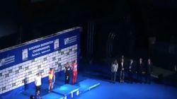 Susana Díaz, pitada en la entrega de medallas del Campeonato de Europa de