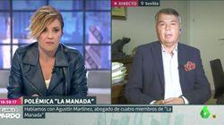 Cristina Pardo levanta aplausos por esta pregunta al abogado de 'La