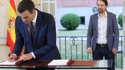 Pedro Sánchez y Pablo Iglesias alcanzan un pacto para los Presupuestos